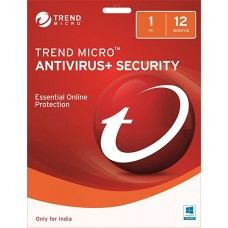 Trend Micro Antivirus+ Security (1 User, 1 Year) Email Delivery