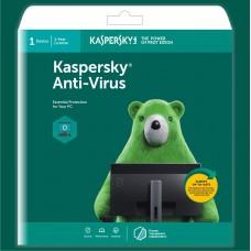 Kaspersky Antivirus 2021 1 User 1 Year