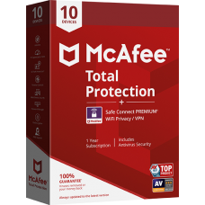 McAfee Total Protection 1 User 1 Year