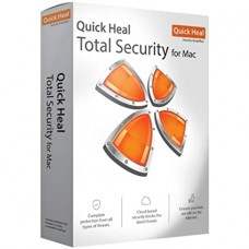 Quick Heal Total Security for MAC 1 User 1 Year